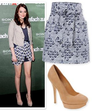 Skirt and Shoe Combos for Mile-Long Legs