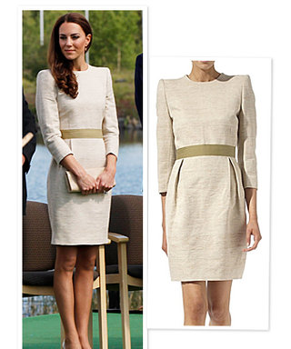 Duchess Catherine's Tour Outfits: Her Cream Dress Details!