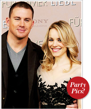 Rachel and Channing Celebrate The Vow and More!