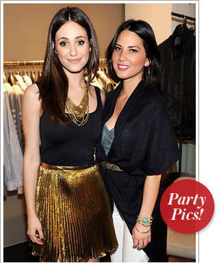 Emmy Rossum and Olivia Munn Shop for a Cause and More!