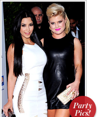 Kim Kardashian and Kelly Osbourne Party With Britney and More!