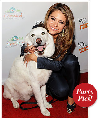 Maria Menounos Parties With Her Pup and More!