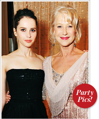 Felicity Jones and Helen Mirren Represent Britain and More!