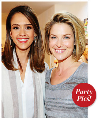 Jessica Alba and Ali Larter's Night Out and More!