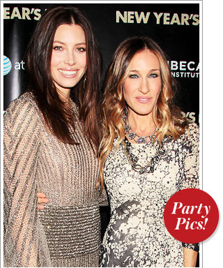 Jessica Biel and SJP's Countdown to New Year's Eve and More!