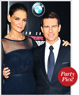 Katie and Tom Premiere Mission Impossible and More!