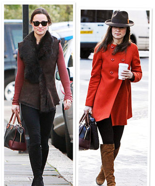 Pippa Middleton's 2012 Outfits
