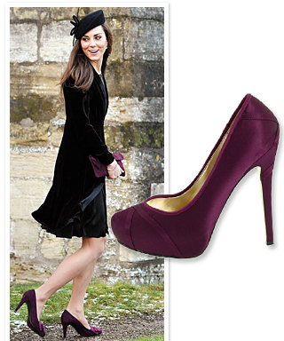 Where to Find Purple Pumps Like Kate Middleton