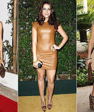 Red-Carpet Trend: Leather Dresses