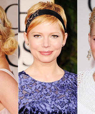 Golden Globes Beauty Trend: Hair Accessories!