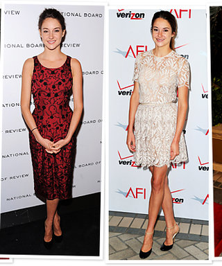 Shailene Woodley Was Told Not to Cross Her Legs in Pictures