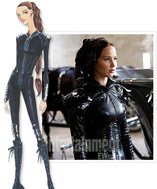 The Hunger Games: Fire Dress Revealed!