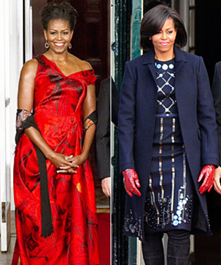 Michelle Obama's Red Looks