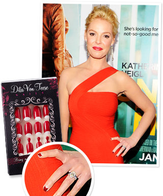 How to Get Katherine Heigl's Half-Moon Manicure