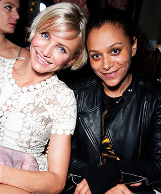 Why Is Cameron Diaz at Couture Fashion Week?
