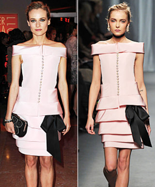 Diane Kruger First to Wear Chanel's Latest Couture Collection