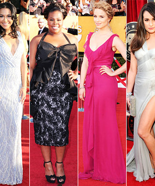 SAG Awards 2012: Which Glee Girl's Dress Did You Like Best?