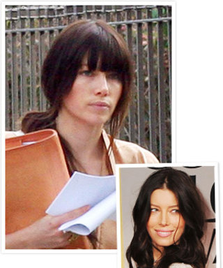 Check Out Jessica Biel's New Bangs!
