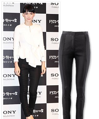 Found It! Rooney Mara's Perfect Black Pants