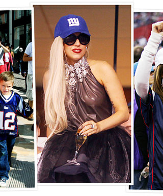 Celebrity Football Fans: See the Photos!