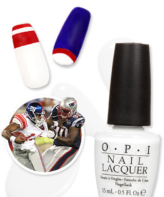 Super Bowl Sunday: Manicure Ideas for Giants and Patriots Fans!