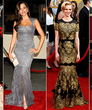 Red-Carpet Trend: Lovely Lace