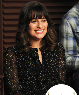 Glee Style: Lea Michele's Star Necklace Found!