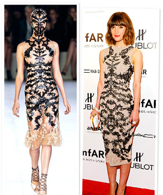 Rose Byrne's Alexander McQueen Dress: Runway to Reality