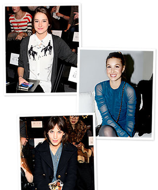 New York Fashion Week: Stars in the Front Row!