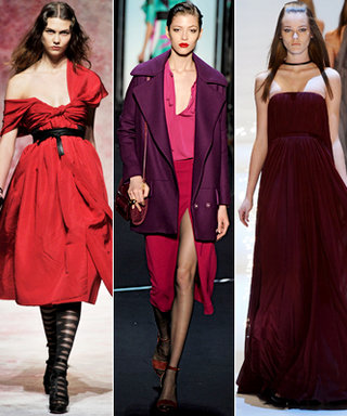 Instant Fashion Week Trend: Mixed Berries