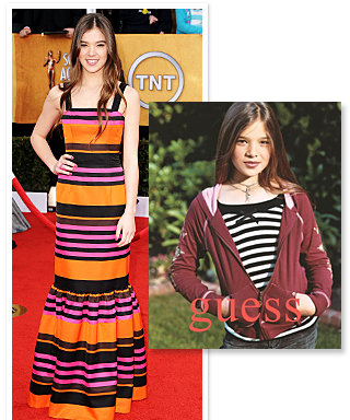 Hailee Steinfeld Used to Model for Guess and Gap