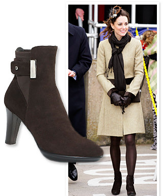 Where to Find Kate Middleton's Brown Boots
