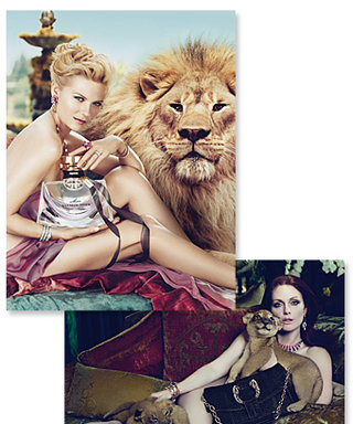 Kirsten Dunst Poses With Lion for Bulgari