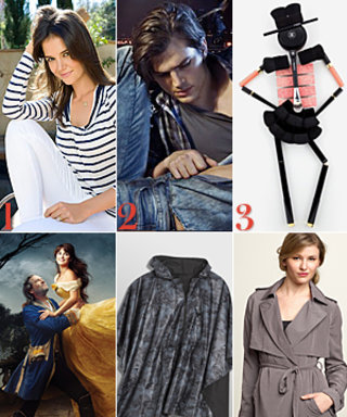 Katie Holmes for Kamiseta, Ashton Kutcher Models, and More!