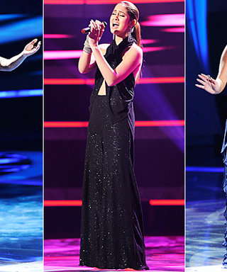 American Idol Style: Pia's Gold Dress Details and More!