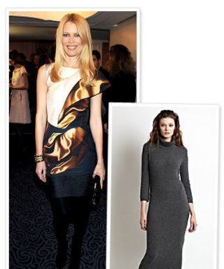 First Look: Claudia Schiffer's Cozy Cashmere Clothing Line!