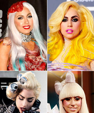 Lady Gaga's Most Outrageous Hairstyles