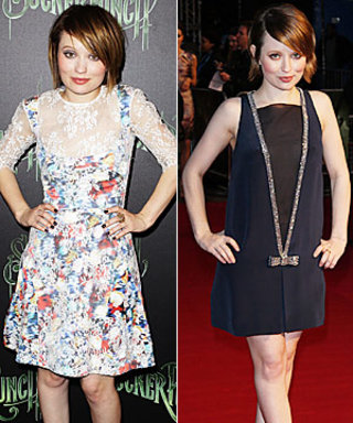 Emily Browning's Red-Carpet Style