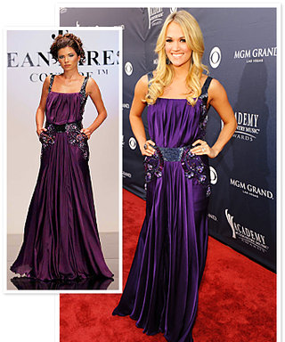 Carrie Underwood's ACM Awards Purple Dress: What the Designer Thought!