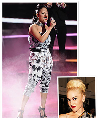 American Idol Outfits: Gwen Stefani Styles the Ladies in L.A.M.B.!