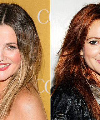 The Inside Scoop on Drew Barrymore's New Red Hair