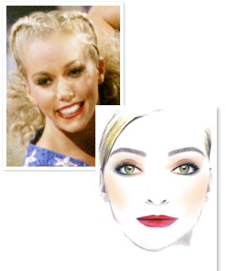 Dancing With the Stars: Kendra Wilkinson's Makeup!