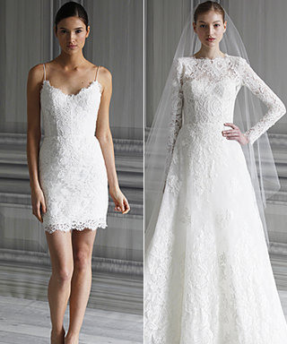 Monique Lhuillier Named Two of Her New Wedding Gowns 'Catherine' and 'Pippa'