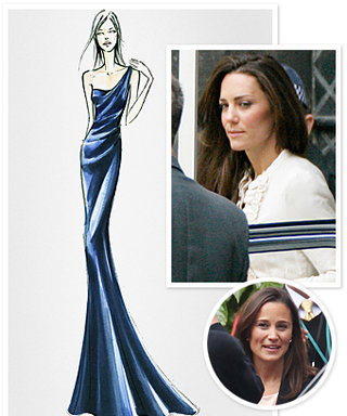 Only 1 Day Left! Kate Middleton's Dress Rehearsal, Garment Bags Everywhere, and More!