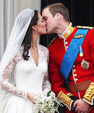 Prince William and Kate Middleton's Kiss: More Celebrity Couple Liplocks!