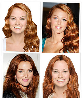 Try on Drew Barrymore and Blake Lively's Red Hair!