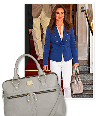 Pippa Middleton's Gray Bag Can Be Yours!