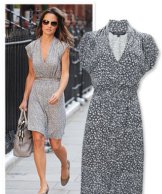 Found It! Pippa Middleton's Flirty Print Dress