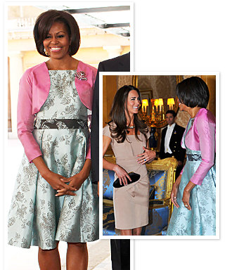 Michelle Obama Met Kate Middleton Today!