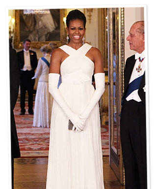 Michelle Obama's Buckingham Palace Style